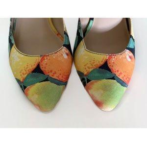 Loeffler Randall Shoes - 🆕 LOEFFLER RANDALL TAMSIN LEMON HEELS PUMPS 6.5